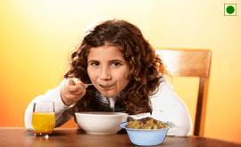 6 to 12 Years Vegetarian Diet Plan