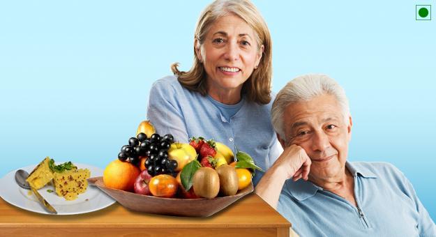 Seniors (60+) Vegetarian  Diet Plan